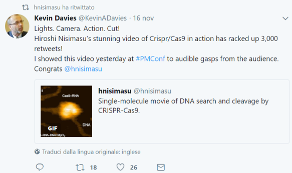 tweet CRISPR real time 3