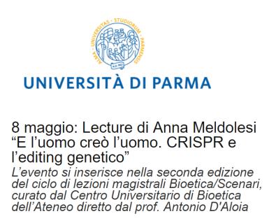Parma 8 maggio